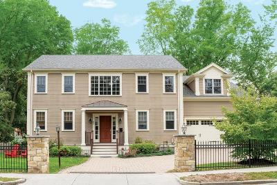 Newton Single Family Home For Sale: 85 Woodcliff Rd