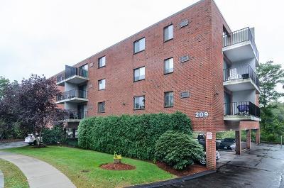 Newton Condo/Townhouse Contingent: 209 Riverview Avenue #37