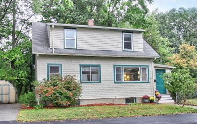 Dedham Single Family Home Under Agreement: 65 Massachusetts Ave