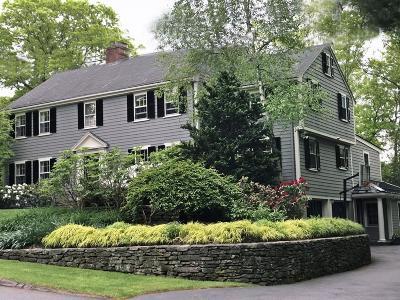 Wellesley Single Family Home For Sale: 9 Deerfield Rd