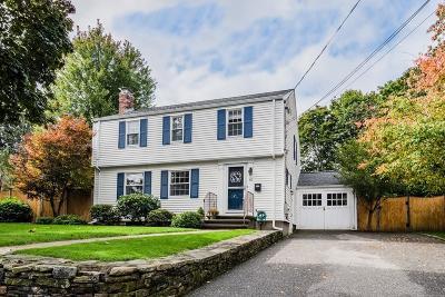 Waltham Single Family Home Under Agreement: 41 Cedarwood Ave.