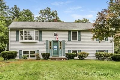 Taunton Single Family Home Under Agreement: 1545 Middleboro Ave