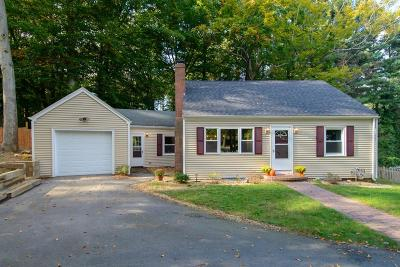 Wayland Single Family Home For Sale: 352 Old Connecticut Path
