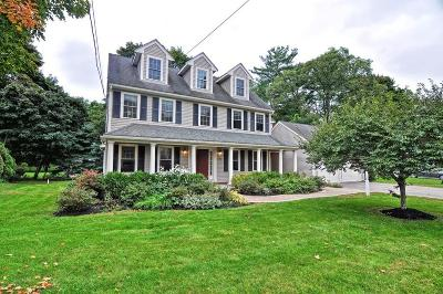 Natick Single Family Home For Sale: 296 Bacon St