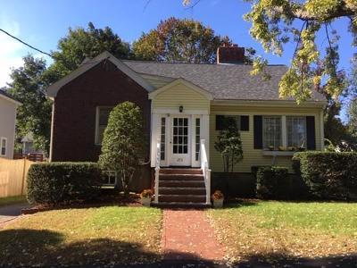 Arlington MA Single Family Home Under Agreement: $659,000