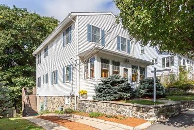 Arlington MA Single Family Home Under Agreement: $649,000