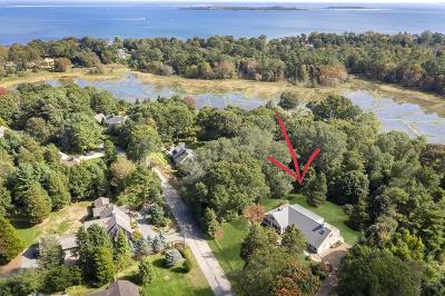 Duxbury Single Family Home Contingent: 55 Eagles Nest Rd