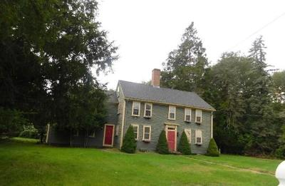 Seekonk Single Family Home Under Agreement: 15 Fall River Ave