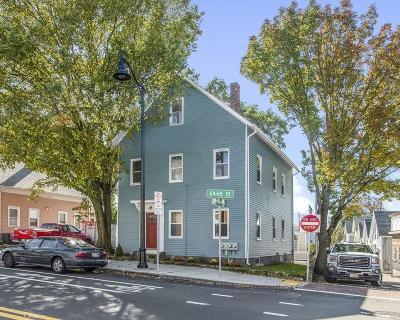 Beverly Condo/Townhouse Under Agreement: 40 Elliott #2