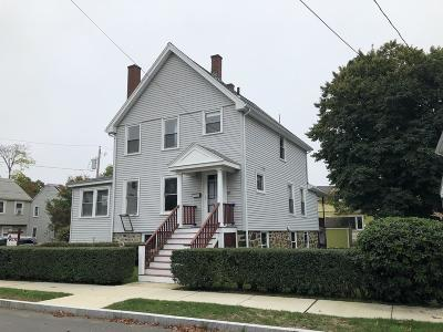 Melrose Single Family Home For Sale: 65 Cutter St
