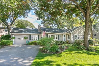 Needham Single Family Home Under Agreement: 8 Fairfax Rd