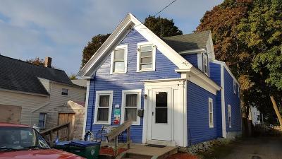Lowell Single Family Home Under Agreement: 47 Lane Street
