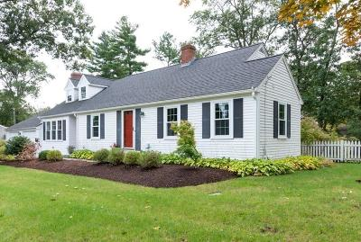 Hingham Single Family Home For Sale: 36 Liberty Pole Rd