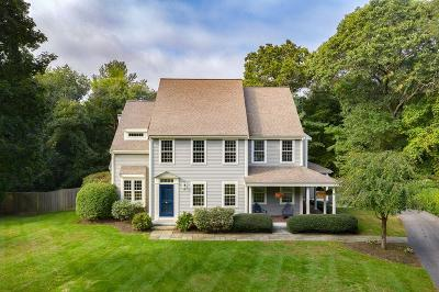 Scituate Single Family Home Contingent: 139 Judge Cushing Rd