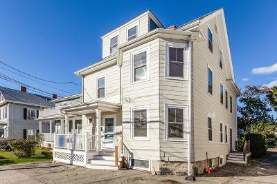 Newton Multi Family Home Under Agreement: 145 Pearl St