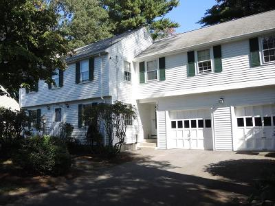 Needham Single Family Home Under Agreement: 58 Avalon Rd