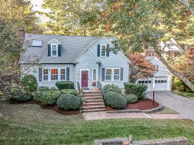 Needham Single Family Home Price Changed: 207 South St