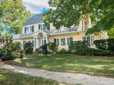 Newton Single Family Home Contingent: 20 Locke Road