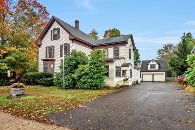 Acton Single Family Home Under Agreement: 544 Massachusetts Avenue