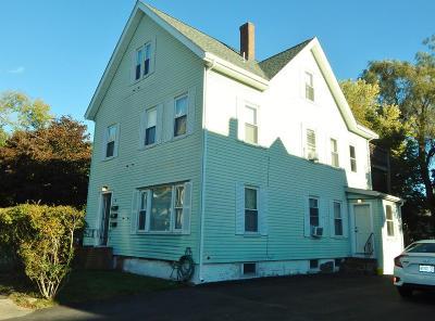 Brockton Multi Family Home Contingent: 76 Hillside Ave