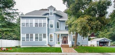 Wellesley MA Multi Family Home For Sale: $1,999,999