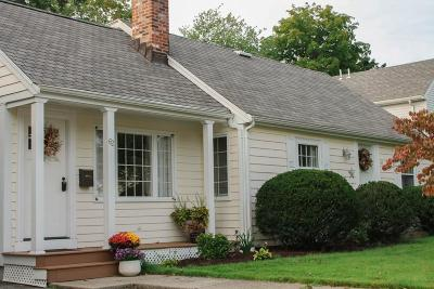 Waltham Single Family Home Under Agreement: 62 Ellery Rd