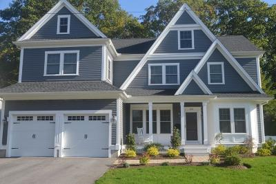 Needham Single Family Home Contingent: 122 Valley Road