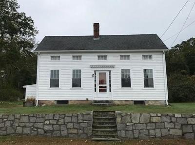 RI-Newport County Single Family Home Under Agreement: 1733 Crandall