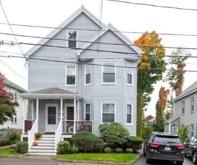 Waltham Condo/Townhouse Under Agreement: 19 Underwood Park #2