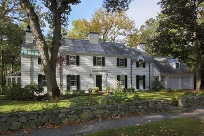 Brookline Single Family Home New: 143 Laurel Rd