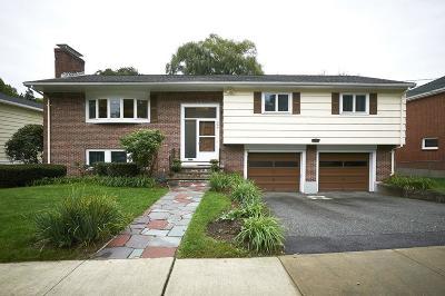 Brookline MA Single Family Home For Sale: $1,349,000