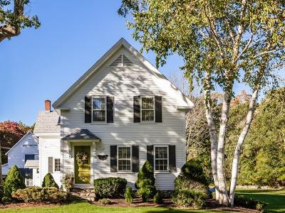 Scituate Single Family Home New: 72 Cedar St
