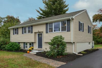 Billerica Single Family Home Contingent: 22 Harjean Rd.