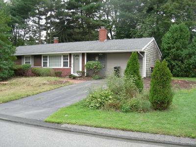 Brockton Single Family Home New: 118 Bates Rd