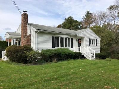 East Bridgewater Single Family Home Under Agreement: 487 Bridge St