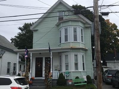 Lowell MA Multi Family Home For Sale: $379,990
