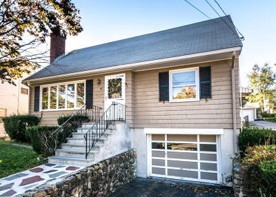Waltham Single Family Home Under Agreement: 20 Leonard Street