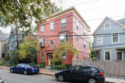 Cambridge Multi Family Home Under Agreement: 25 Carver Street