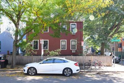 Cambridge Multi Family Home Under Agreement: 110 Pleasant Street