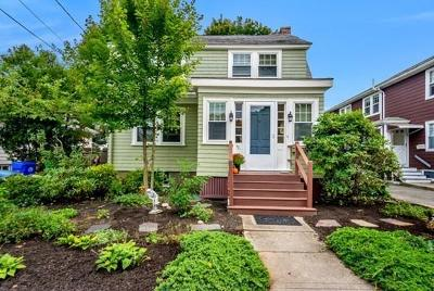 Newton Single Family Home For Sale: 30 Gilbert Street