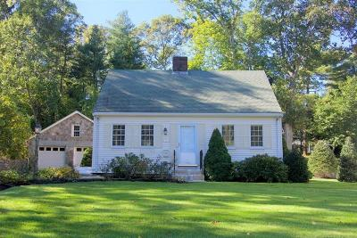Wellesley Single Family Home For Sale: 62 Pleasant Street