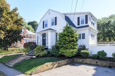Belmont Single Family Home Under Agreement: 177 Slade St