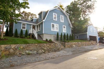 Waltham Single Family Home Under Agreement: 38 Marivista Ave