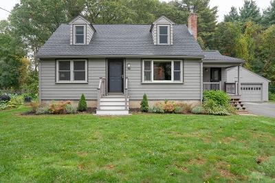 Maynard Single Family Home Under Agreement: 46 Old Marlboro Rd