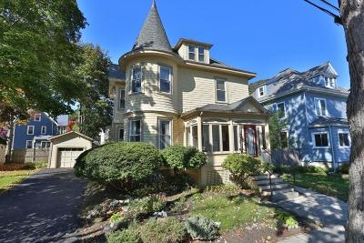 Melrose Single Family Home Under Agreement: 50 Florence St