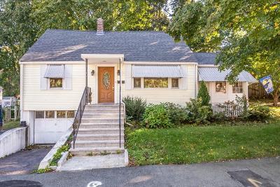Stoneham Single Family Home Under Agreement: 5 Cottage Street