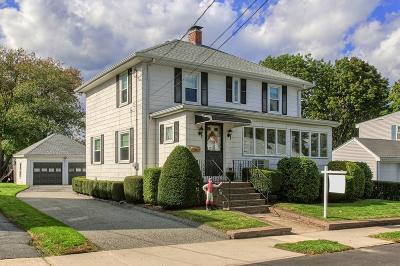 Peabody Single Family Home Under Agreement: 10 Barrett Street