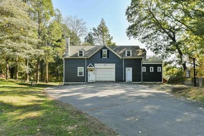 Milton Single Family Home For Sale: 1065 Brush Hill Rd - Lot 2