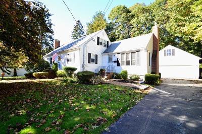 Stoneham Single Family Home Under Agreement: 3 Paula Ave