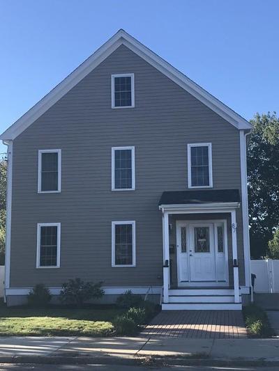 Boston Single Family Home New: 87 W Milton St